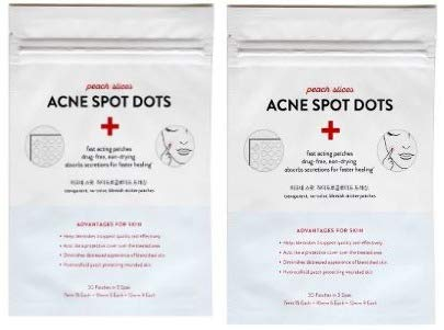 Peach & Lily Peach Slices Acne Spot Dot Patches