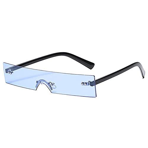 MU-PPX Gafas De Sol para Mujer Gafas De Sol De Montura Pequeña con Laterales Estrechos Gafas De Sol Polarizadas con Protección Uv400 Vintage Shades para Mujer