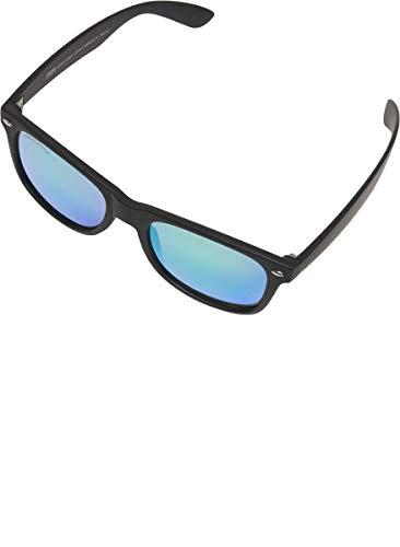 Urban Classics Unisex Sunglasses Likoma Mirror UC Sonnenbrille, Black/Green, one size