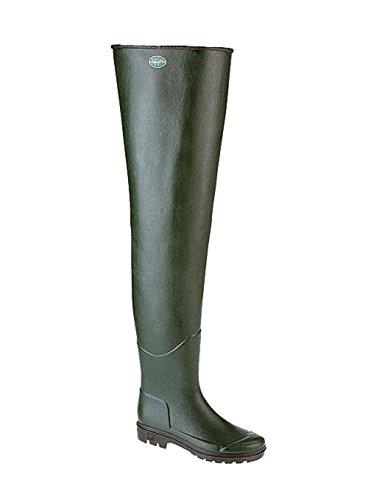 Le Chameau Anglerstiefel / Watstiefel Delta 42 braun