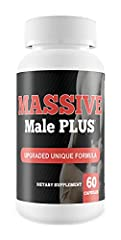 ✔️ FAST ACTING - Juice your performance FAST. Use regularly for prime results. ✔️ NATURAL + PEFORMANCE - Massive Male Plus crushes the competition. ✔️ SAFETY FIRST - Manufactured in the USA at an FDA registered facility in accordance with GMP complai...