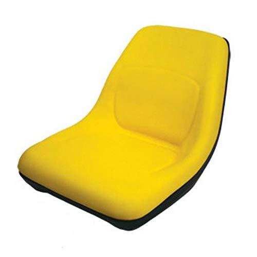 AM126865 One New for John Deere Riding Mower High Back Yellow Seat LT133 LTR155 SST16 +