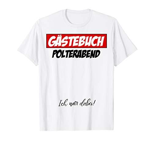 günstig Auf Wiedersehen Gästebuch Brautdusche T-Shirt Vergleich im Deutschland
