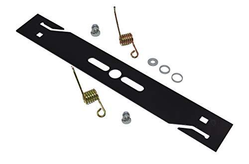 Cuchilla para escarificador/cortadora de césped y musgo + 2 muelles endurecidos