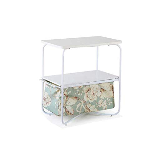 HYY-YY Coffee Table Bedside Table Multifunctional Storage Side Cabinet Square Small Table