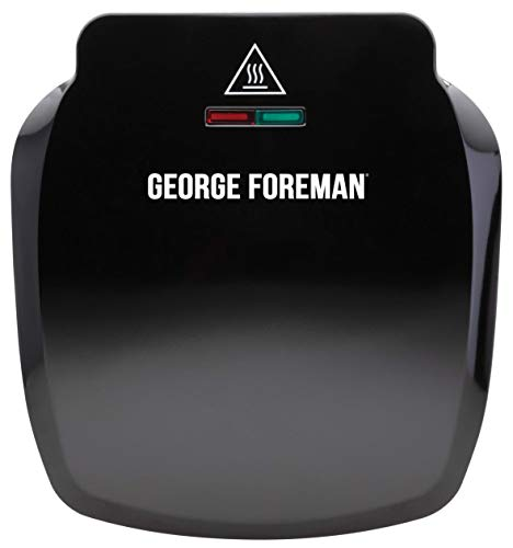 George Foreman 23400 Compact 2-Portion Grill