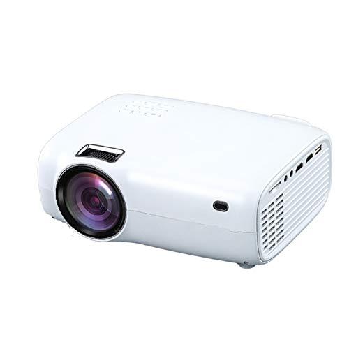 LIDY Proyector Portátil Full HD 1080P, 3600 Lúmenes Proyector LED Compatible con Android 9.0 WiFi Proyector De Video De Cine En Casa Inteligente, Compatible con USB/HD/SD/AV/VGA, 4G + 32G