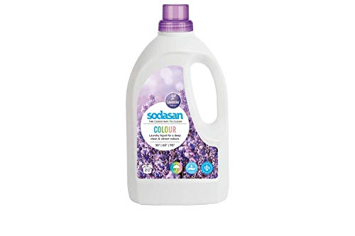 Sodasan Color-Flüssigwaschmittel Lavendel, 1.5 l
