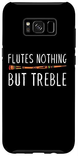 Galaxy S8+ Vintage Flutes Nothing But Treble Music Instrument Flute Case