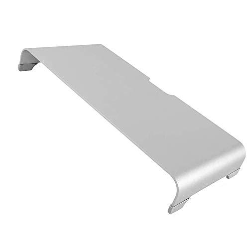 La Computadora Riser Metal Universal Del Soporte Del Escritorio,Soporte De Aluminio Del Monitor, Base De Espacio De Almacenamiento Organizador Magic Teclado Y Ratón Desk Accessoires,42x22x6cm