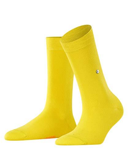 Burlington Damen Lady W SO Socken, gelb (Sunlight 1141), 36-41