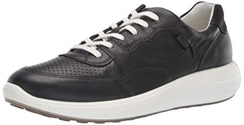 Ecco Damen SOFT7RUNNERW Sneaker, Schwarz (Black 1001), 41 EU