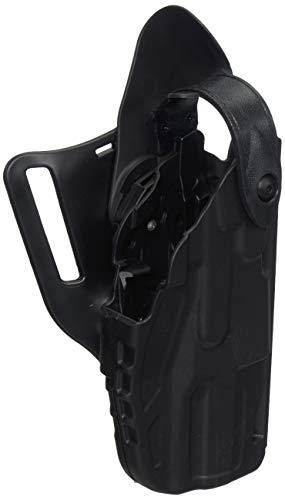 Safariland 7360 ALS/SLS, Level 3 Retention Duty Holster, Mid Ride, Fits: H&K USP 9mm.40 Compact (3.58') - Black - STX Plain, Right Hand