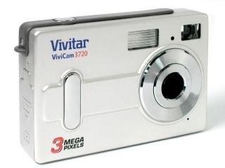 ViviCam 3720Cámara Digital–Negro (3MP)