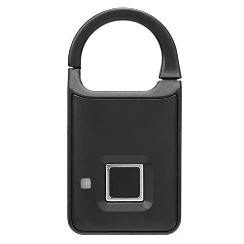 Candado elegante de la huella dactilar, cerradura recargable sin llave de la seguridad de la maleta del equipaje de la cerradura del gabinete