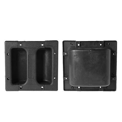 SimpleLife Ersatzlautsprecher Einbaugriff/Sound Lautsprecher Zubehör für Gitarrenverstärker Cabinet (1 Set)