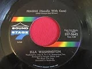 fragile / i want to walk through this life with you 45 rpm single