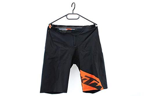 KTM Fahrradhose Radlerhose, Kurze Hose Shorts schwarz/orange Factory Enduro, Größe:M
