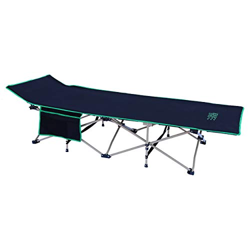 OSAGE RIVER Folding Camping Cot with Carry Bag, Portable and Lightweight Bed for Adults or Kids, Red