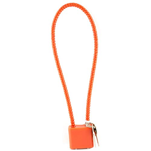 "DAC 15"" Steel Cable Gun Lock Safety Orange California and Massachusetts Compliant"