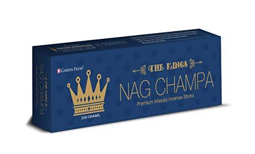 Premium Nag Champa Agarbatti Incense Sticks Box 250gms Hand Rolled Agarbatti Fine Quality Incense Sticks for Purification, Relaxation, Positivity, Yoga, Meditation