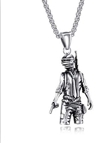 JULYSST Anhänger Halskette Vintage Gold/Silber Mini Boxhandschuh Halskette Personalisierte Match Schöne Schmuck Anhänger Halskette-Gold