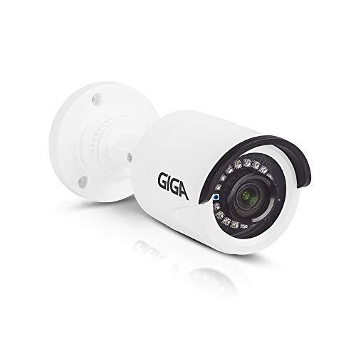 Câmera de segurança Bullet Plástica 720p HD GIGA Série Orion Infravermelho 20m - GS0020, Giga, GS0020 GS0020, Branco