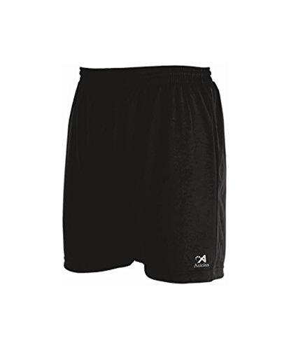 Asioka 230/16N Pantalón Corto Deportivo, Unisex niños, Negro, XS (12-14)