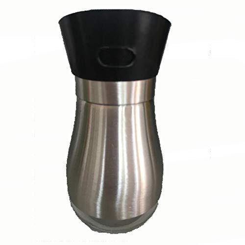 CAPOOK Cocina 2PCS / Lot originative condimento condimento Frasco de Pimienta de Pimienta Tarro de Especias (Color : Black)