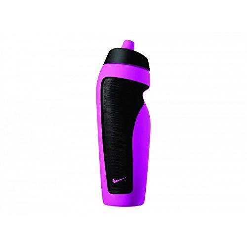 Nike - Bidon gourde 600ml - Bidon d hydratation - Blanc - Taille Unique