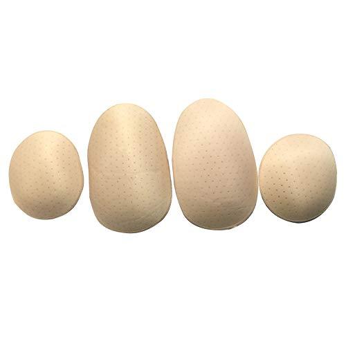 Hip Pad,4Pcs Women Self-adhesive Lightweight Padded Enhancing Pads Butt Lifter