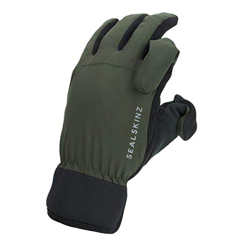 SealSkinz Waterproof All Weather Sporting Glove, Olive Green/Black, XL