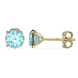 MarchBirthstone AquamarineColourHappy and Healthy you are; Time unravels in an instant in your youthful presence and the magic of your creativity; you are beauty and strength. This gemstone will ground you in your power. Crafted from 9ct Gold this...