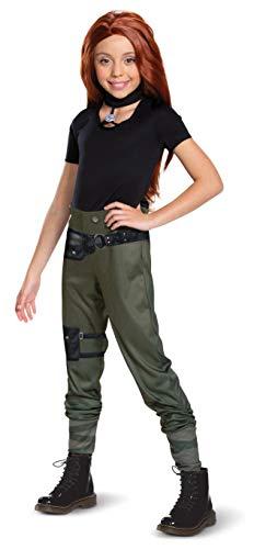 Disguise Kim Possible Disfraz clsico para nio, Negro, L