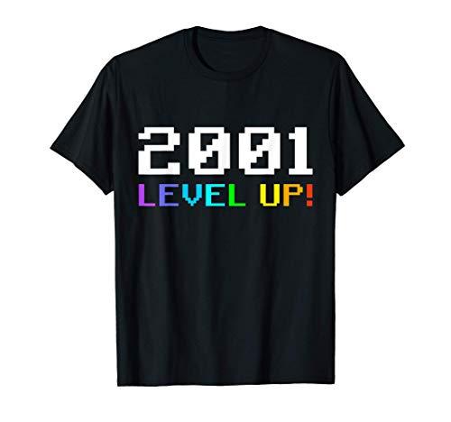 19 Años Cumpleaños Chico Chica Regalo Deco Divertido 2001 Camiseta