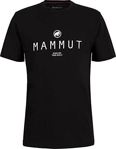 Mammut Seile Camiseta, Black Prt4, XL para Hombre