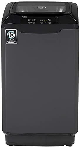 Godrej 7 Kg Fully-Automatic Top Loading Washing Machine (WT EON ALLURE CLS 700 CANMP Gr, Graphite Grey)