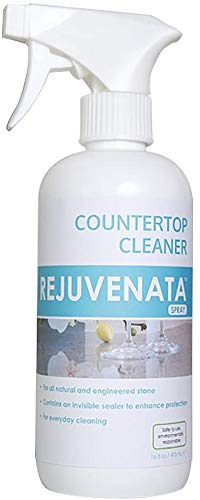 DRY-TREAT Rejuvenata Countertop Cleaner Spray for Tile, Stone, and Hard Surfaces