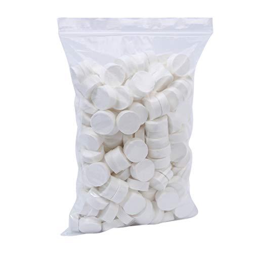 Gfhrisyty Toallitas Desechables de Toallas Comprimidas de AlgodóN Suave MáGico de 500 Piezas Tableta de Tejido de Viaje