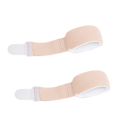 Healifty Hammer Zehenabscheider Verband Hammer Toe Splints Zehen Bandagen zur Korrektur von Hammer Toes, Broken Toes