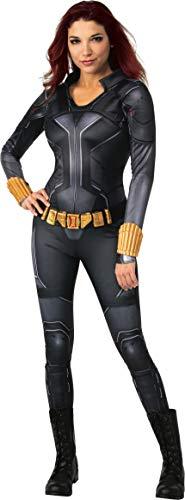 Rubies Marvel Studios Black Widow Movie Deluxe Costume Disfraz Talla de Adulto, Traje Negro, S para Mujer