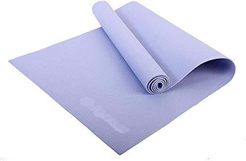 TYSJL Esercizio yoga tappetino 4mm addensare anti-skid sport fitness yoga mat tuta eva comodo schiuma stuoia per la tappetino per la casa palestra yoga pilates stuoie di esercizio (colore: blu, dimens