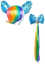 SUIT YOURSELF My Little Pony Rainbow Dash Costume Accessory Supplies for Children, Include a Rainbow Mane Headband, Tail