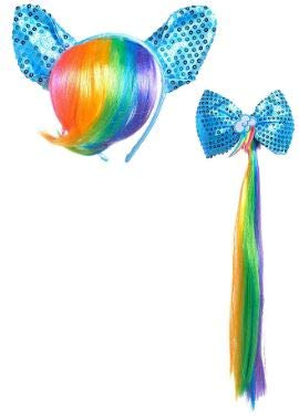 Best rainbow dash hair and tail on the market