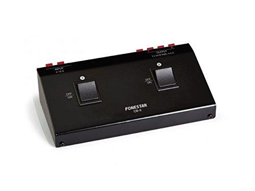 FONESTAR - Selector Altavoces Stereo 2 Salidas Cb-2