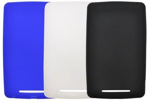 PLATA Nexus 7 (2012 年 モデル 専用 )カラー シリコン ケース 【 ホワイト 】