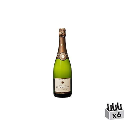 Champagne Réserve Brut - Champagne Philippe Gonet - Rebsorte Pinot Noir, Chardonnay, Pinot Meunier - 6x75cl