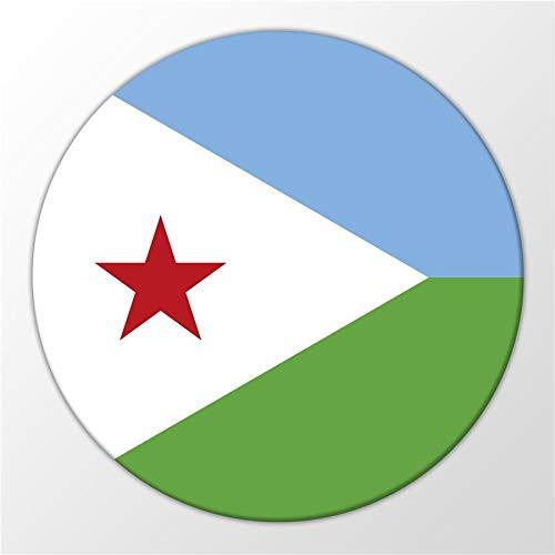 Kühlschrank Magnet Djibouti Dschibuti Flagge Ostafrika Magnettafel Whiteboard