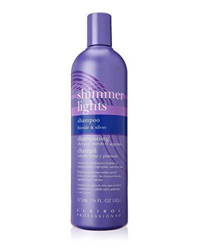 Clairol Professional Shimmer Lights Shampoo Blonde & Silver 16 Fl Oz