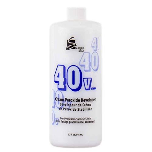 Super Star Cream Peroxide Developer 40 Volume - 16 Oz